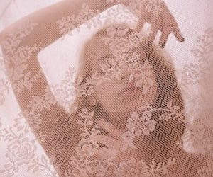 pink, lace, and aesthetic image