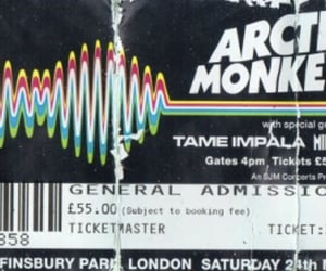 ticket and artic monkeys image