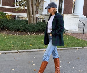 lady di, blazer, and boots image