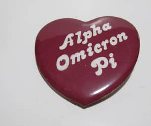 greek, heart, and pin image
