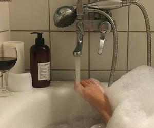 bubble bath, bath time, and cozy image