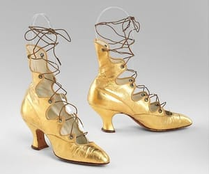 1910s, yellow, and boots image
