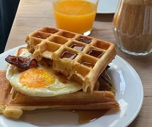 breakfast, comida, and ovo image