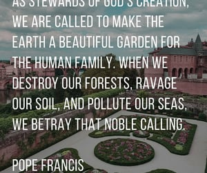 Catholic, pollution, and veganism image