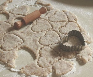 Cookies, dough, and heart image