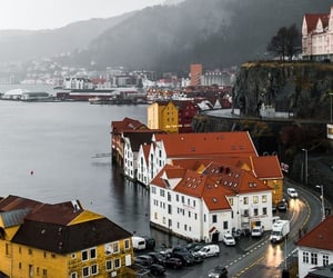 norway, city, and bergen image