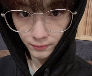 glasses, cix, and cute image