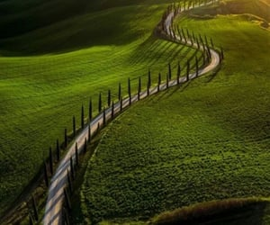 adventure, country road, and countryside image
