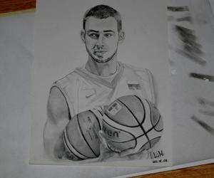 Basketball, Lithuania, and jonas valanciunas image