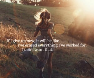 quotes, running, and text image