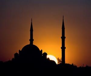 islam, Ramadan, and sunset image