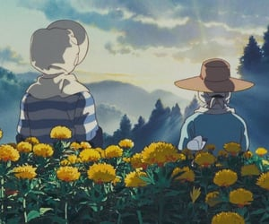 aesthetic, only yesterday, and ghibli films image