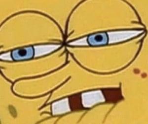 reaction and spongebob image