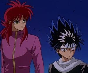 anime, kurama, and hiei image