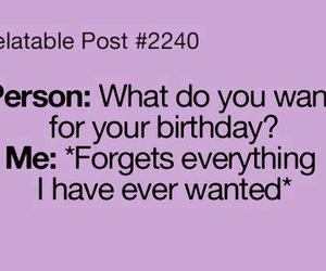 birthday, quote, and text image