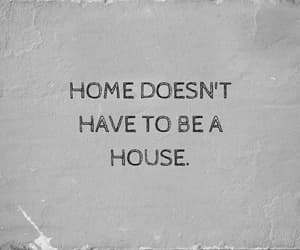 home, quotes, and aesthetic image