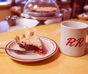 cafe, cherry, and peaks image