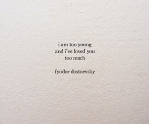 quotes, young, and love image