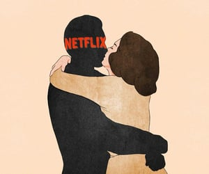 netflix, art, and boyfriend image