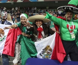 february, mexico, and flag day image
