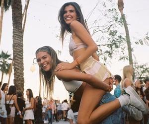 coachella, festival, and model image