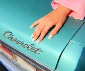 car, nails, and vintage image