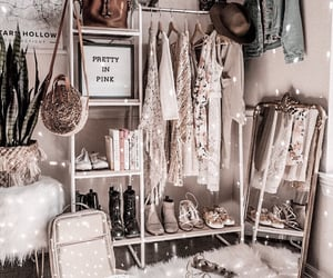 bedroom, decor, and accessories image