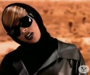 90s, mary j blige, and makeup image