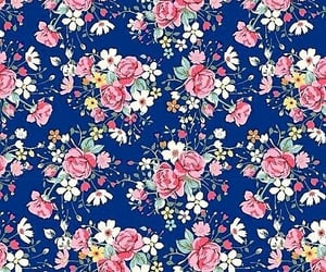blue, cath kidston, and pink image