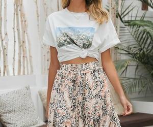 leopard print, mini skirt, and summer fashion image