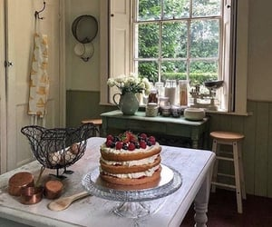 cake, home, and kitchen image