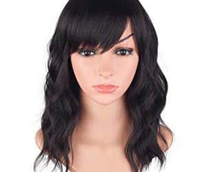 article, waves hair, and clip in hair extensions image