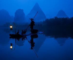 amazing, asian, and fisherman image