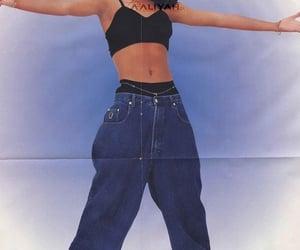 aaliyah, fashion, and model image