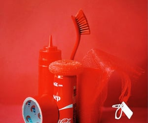 household, red, and objects image