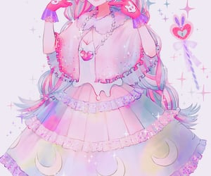 anime, pixiv, and anime girl image