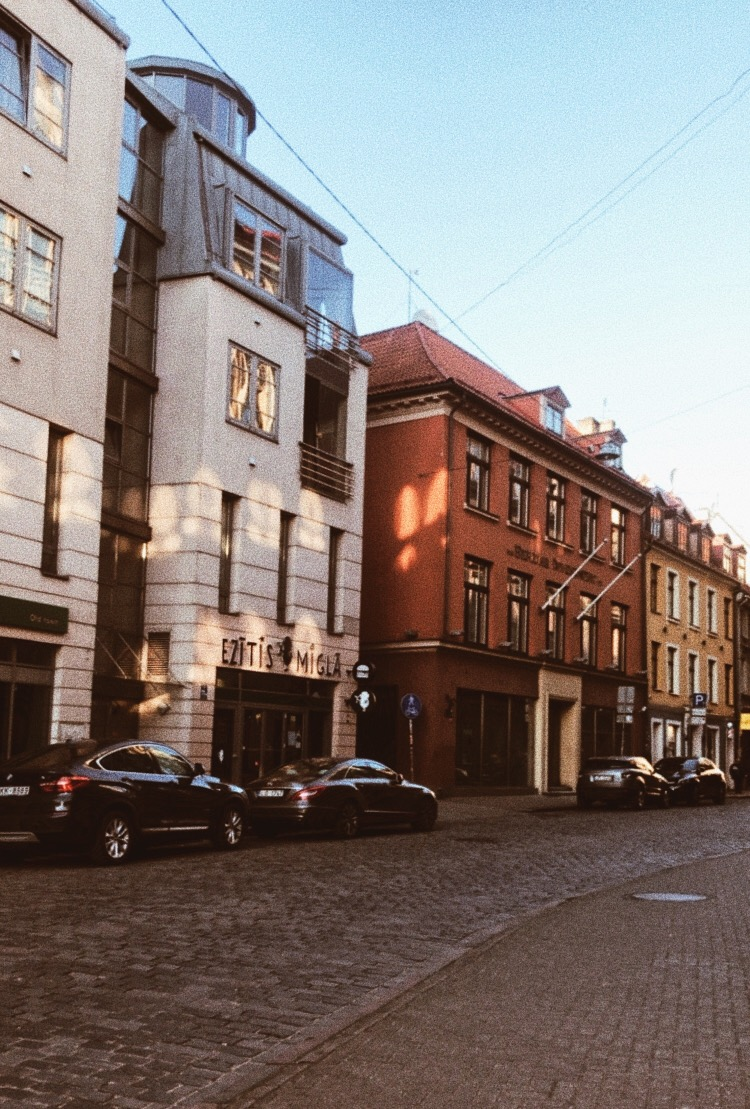 buildings and riga image
