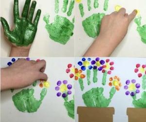 children, hand, and kids image