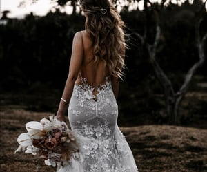 Dream, white, and dress image