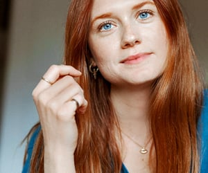 beauty, ginger, and ginny weasley image