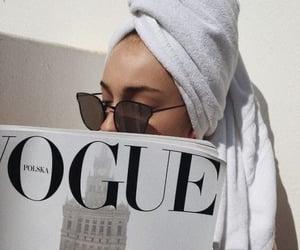 vogue, fashion, and white image