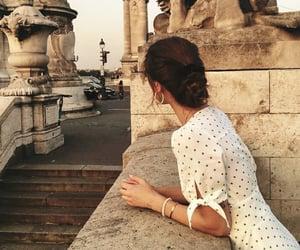 fashion, girl, and travel image