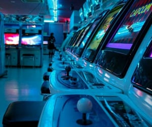 blue, aesthetic, and game image