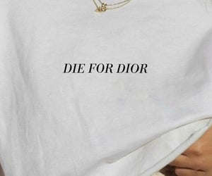 dior, white, and aesthetic image