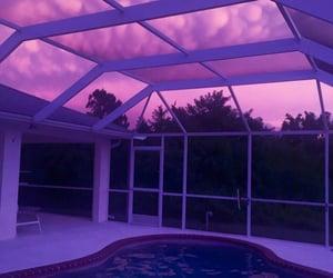 pool and purple image