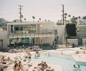 california, summer, and palm springs image
