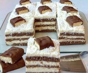 cake, yummy, and chocolate image