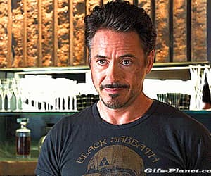 Avengers, gif, and iron man image