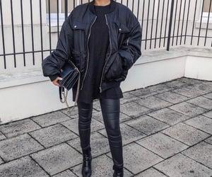 fashion, fashion inspiration, and bomber jacket image