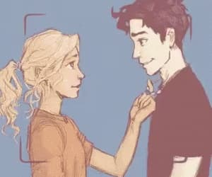 gif, annabeth chase, and percy jackson image